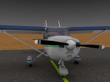 Cessna 172 3D
