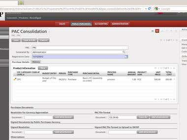 purchase order consilidation