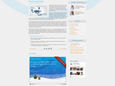 eCommerce blog theme