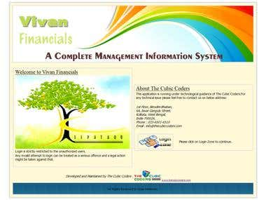Management Information System in .net C# ms sql server