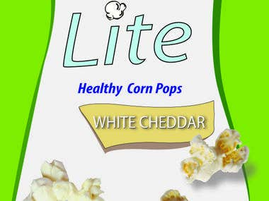 logo & packaging design for a new Kettle Corn variant