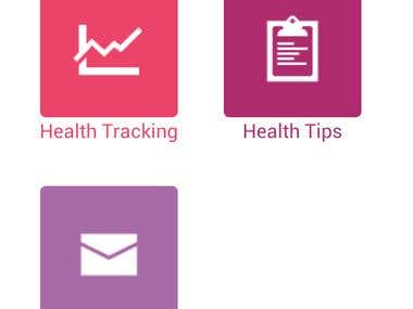 Healthy Lady Health Tracking Android/iOS App