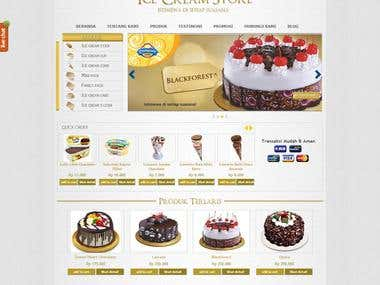 Campina Ice Cream Store