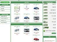 Car/Parts/Machine Product Listing Site