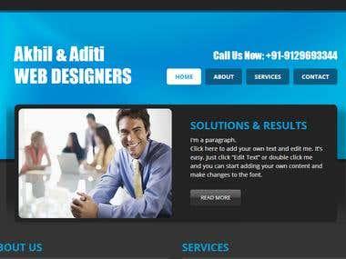 Designers Web Page
