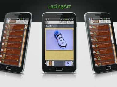 Lacing Art - how to lace shoes Android app