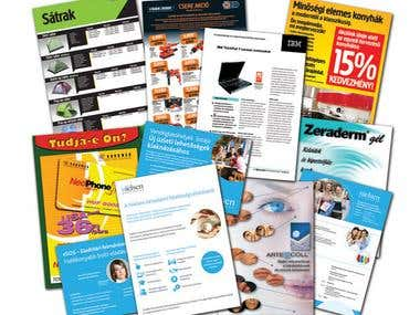 Print Ads & Business Cards