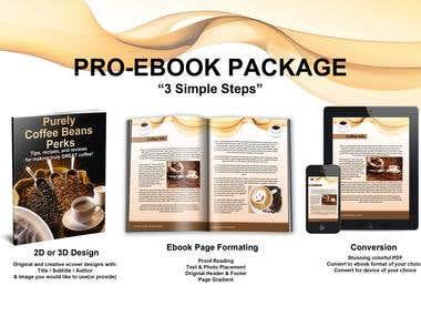 Ebook Design & Formatting