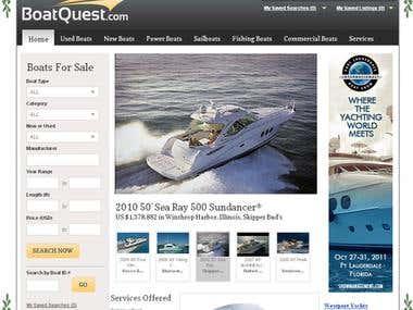 Boats Directory Portal