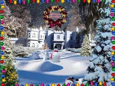 Christmas Holiday Web Porta