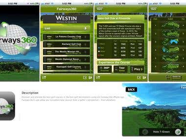 360Golf - iPhone App