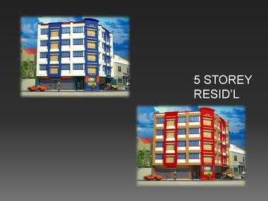 Five Storey Apartment