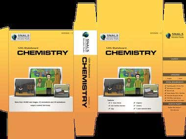 Product Box and DVD Lable Design