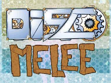 Disco Melee Creative Logo