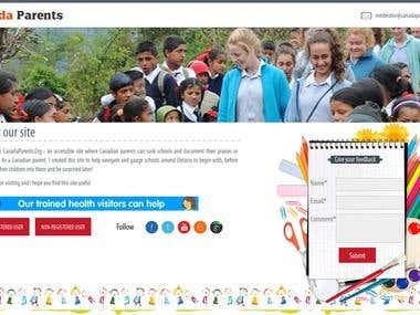 Online School Website