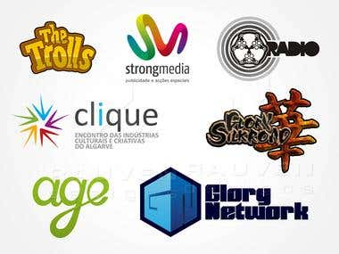 Random Logo styles