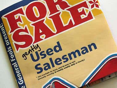 For Sale: Gently Used Salesman