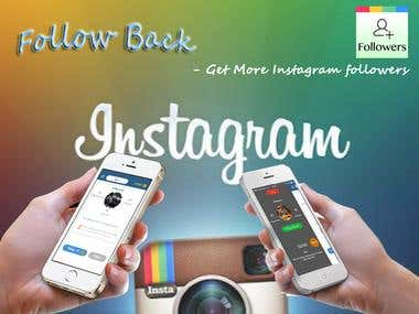 Follow Back - Instagram Get Followers