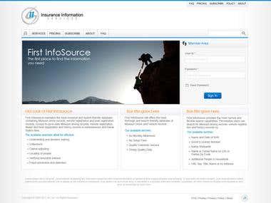 Website Design for First InfoSource