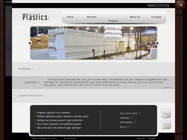 Site for logistic company based in Czech
