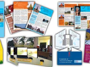 Flyers, brochures