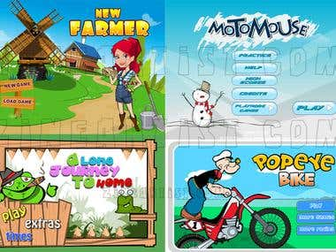 Online Flash game graphic.