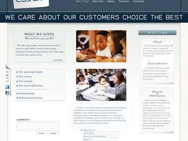 Site for Education organisation based in USA.