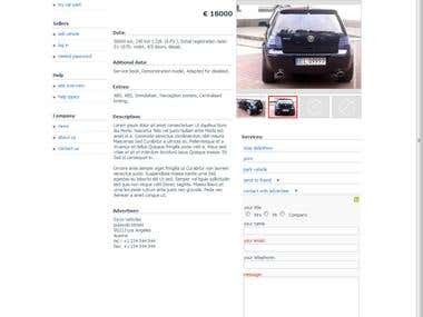 Car marketplace [similar to mobile.de]