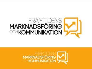 Logo Design for Framtidens Marknadsföring och Kommunikation