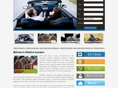 Atlantica Insurance (wordpress)