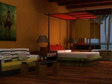 3D Designing Interior and Exterior