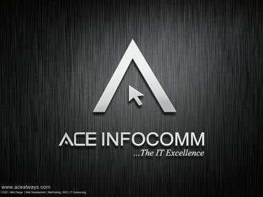 ACE Logo Mockups