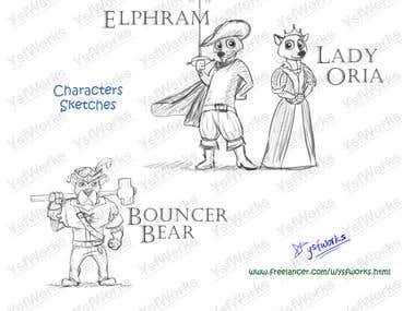 Mascots/Characters 2
