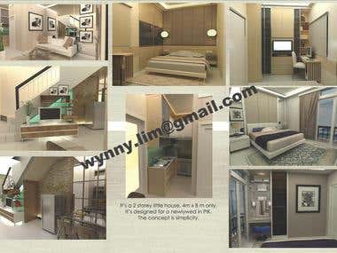 Interior Design project sample