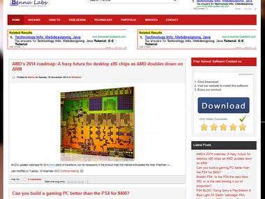 Joomla Automated Blog