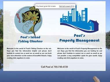 Paul's Property & Fishing