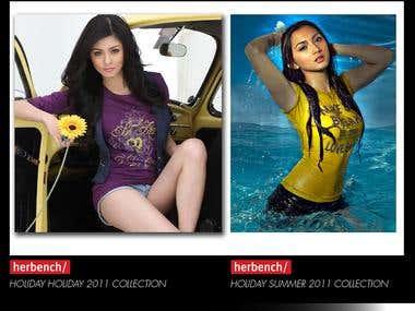 Women's Apparel Designs and Shirt Prints