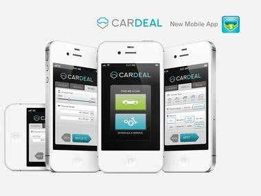 CarDeal APP Design concept