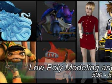 Low Poly Modeling and Texturing