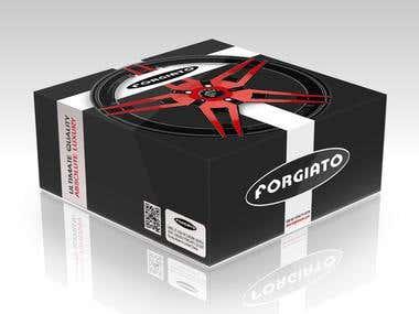 Steering Wheel Packaging Design