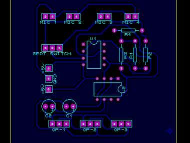PCB layout and Circuit Design