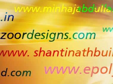 Websites designed by us !!