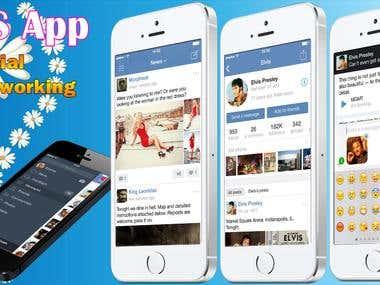 iOS Social App