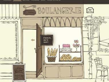 Boulangerie Web Design