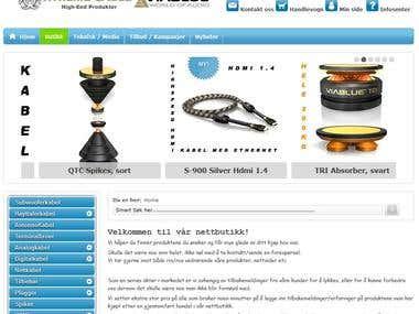 Joomla + VirtueMart WebShop