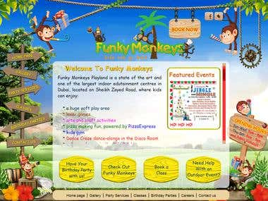 Funky Monkeys Playland   No 1 Party Destination in Dubai