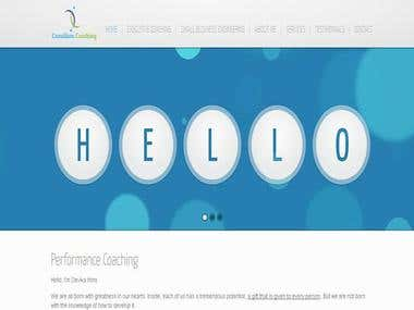 Coaching Services Website (Joomla)
