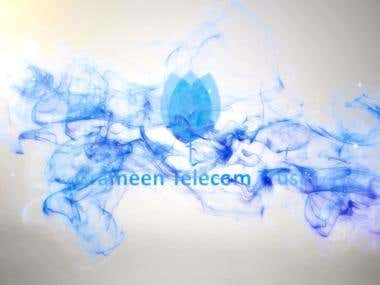 Logo intro (Bluewish Version)
