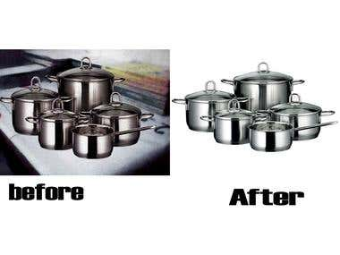 backgroun remove and photo retouch..