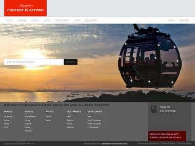Tourism Content Platform